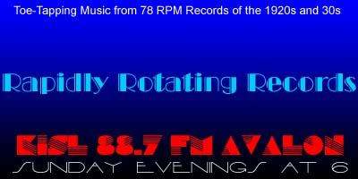 Rapidly Rotating Records Logo 78RPM Records