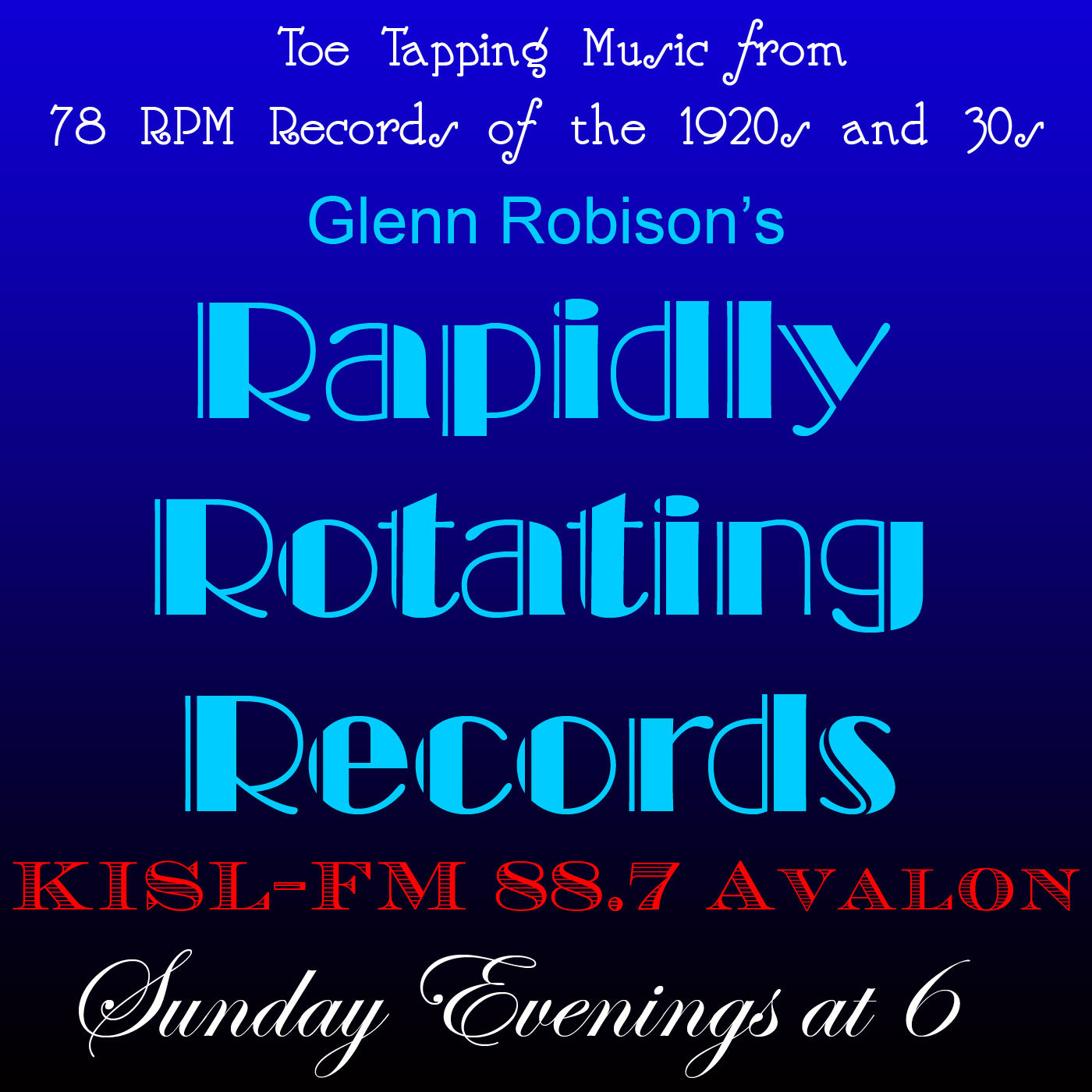 Rapidly Rotating Records